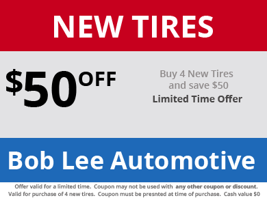 New Tires Coupon